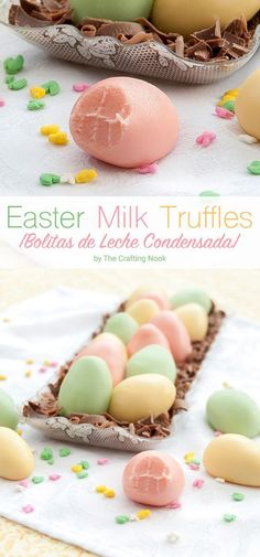 "These are called ""bolitas de leche condensada"" which means Condensed Milk Balls. It's like a truffle but made with condensed milk of course LOL That's why I called it Milk Truffle"