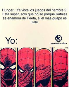 Read hungers from the story los juegos del hambre:memes by XXdeulamayeowangXX (Pochi ♡) with reads. Katniss Everdeen, Katniss Y Peeta, Hunger Games Mockingjay, Hunger Games Catching Fire, Hunger Games Trilogy, Good Books, Books To Read, My Books, Hunger Games Memes