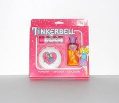 Tinkerbell Cosmetics. (cute compact in this one)