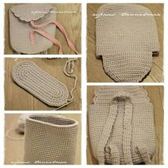 Crochet backpack pattern inspiration / crochet bag from t-shir yarn Discover thousands of images about jakjan kitteno Crochet back pack 564 Likes, 17 Comments - Чалма This Pin was discovered by ath Crochet Shell Stitch, Crochet Stitches, Crochet Patterns, Purse Patterns, Diy Crochet, Crochet Crafts, Crochet Projects, Diy Crafts, Crochet Handbags