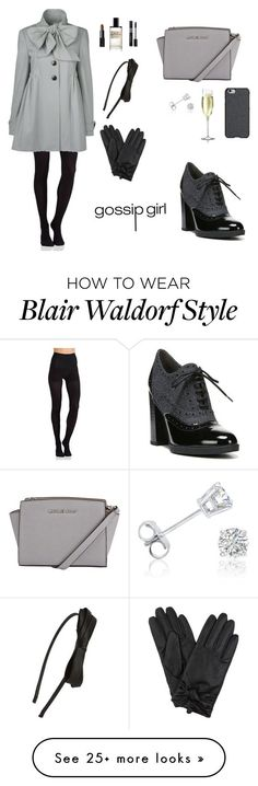"""""""BLAIR WALDORF INSPIRED LOOK"""" by twyzter on Polyvore featuring Commando, Franco Sarto, NARS Cosmetics, Christian Dior, Tasha, D.S. & DURGA, Agent 18 and Amanda Rose Collection"""