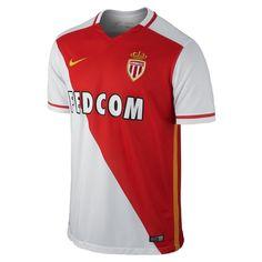Nike AS Monaco Home Stadium Jersey 15 16 79b38a97543c9