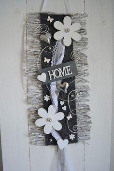 Türkranz  Türschmuck Türdeko Rebenmatte grau/weiß, Home, Blüten in Möbel & Wohnen, Dekoration, Außen- & Türdekoration | eBay!