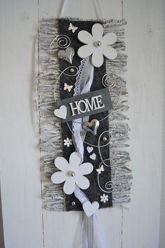 t rkranz kranz fr hling 45 cm shabby willkommen rebenmatte t rdeko gr n grau birgit. Black Bedroom Furniture Sets. Home Design Ideas