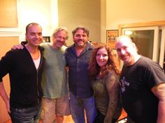 Recording team in New York  #greawalker