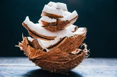 coconut has so many health benefits and we love adding it to our smoothies and bowls