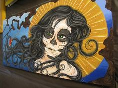 Day of the Dead Prints by ZimmerArt on Etsy, $40.00
