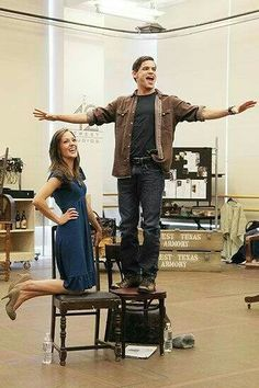 Meet Broadway Outlaws Laura Osnes, Jeremy Jordan and the Bonnie & Clyde Gang Bonnie And Clyde Musical, Bonnie Clyde, Bonnie Parker, The Bonnie, Theatre Nerds, Musical Theatre, Theater, Broadway Stage, Broadway Shows