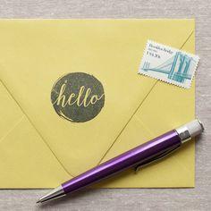 Hello - Self-inking Stamp