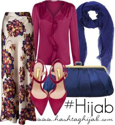 Hashtag Hijab Outfit #294 -- I love the skirt ! Simply gorgeous ! #Fashion