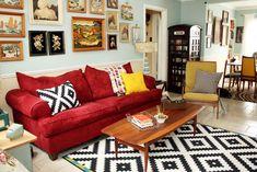 Home Design: Such a fun living room!