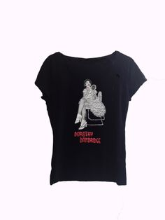 Dorothy Dandridge T-shirt Painted Dorothy Dandridge, T Shirt Painting, White Tutu, Black Actresses, Simple Shirts, Best Actress, Old Hollywood, 3d, Tees