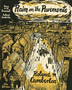 Rain on the Pavements - illustration by John Minton