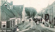 The Weststraat in Den Helder, Holland Taken at the turn of the century, approximately 1900.  My great-grandparents, grandparents, parents and I lived at Weststraat 106
