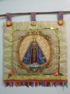 Estandarte Nossa Senhora Aparecida