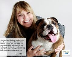 Laurel M. and her puppy | Check out the MBCA Day interactive photo/video wall at www.FacesofMBC.org