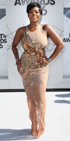See the Hottest Looks from the 2016 BET Awards Red Carpet: Photos - BET Awards - Fantasia Barrino from InStyle.com