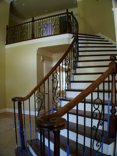 Ordinaire Craftsman Stair In Encinitas   Traditional   Staircase   San Diego   Beach  City Stairs | Building A House: Interior Space Ideas | Pinterest |  Traditional ...
