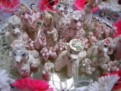 Oodles and Oodles of Vintage 1950s Pink Poodles!