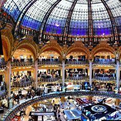 Galeries Lafayette Haussmann - Chaussée-d'Antin - パリ, Île-de-France