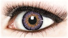 Dare to be different with these beautiful natural looking Violet contact lenses…