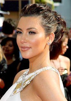 best celebrity updo hairstyles
