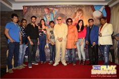"Tuesday 22nd March 2016, first look of R-Vision India Pvt. Ltd's new film UDANCHHOO !! was unveiled at Hotel Sun-N-Sand by veteran actor Prem Chopra, where in entire cast and crew of the film were present along with media. Producer and MD of R-Vision Ravindar Singh said ""we started this film approximately one year back, but …"