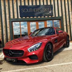 """Paul Wallace on Instagram: """"IT'S HERE @Southern_Sky_Motor_Cars are legends! As are all of you guys for being incredibly patient The secret is out. Welcome to my True Blood Mercedes Benz AMG GTS! #SupercarsofLondon"""""""