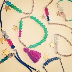 Star and Tassel Bracelets
