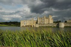 Leeds Castle, four miles south east of Maidstone, Kent, England, dates back to 1119, though a manor house stood on the same site from the ninth century.