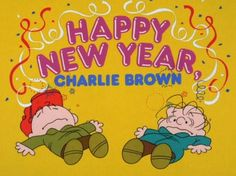 happy new year charlie brown begins now on abc snoopy happy new