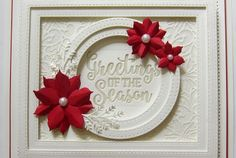 Finale - Creative Expressions Craft Dies by Sue Wilson Festive Collection 2016 Fall Cards, Winter Cards, Christmas Cards, Christmas Ideas, Christmas 2017, Christmas Decor, Card Tags, I Card, Sue Wilson