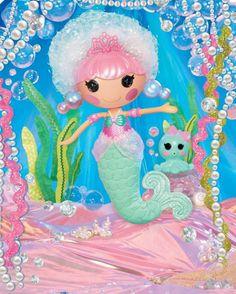 Bubble Mermaids and the New Littles - Lalaloopsy Doll House Mermaid Beach, Mermaid Style, Dollhouse Kits, Mermaid Dolls, Birthday Wishlist, Princess Girl, Doll Face, Xmas Decorations, Sea Foam