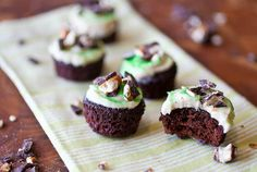 Chocolate stout cupcakes with a Guinness buttercream