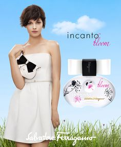 Salvatore Ferragamo - Incanto Bloom Perfume - Advertising Campaign