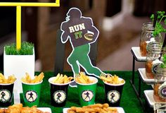 Football party with FREE printables