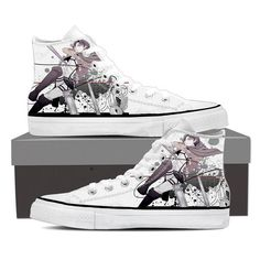 Converse Unisex - Levi Blades and ODM Attack On Titan Shoes