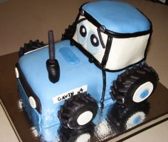 Tractor cake/could be green for the boys!!!