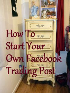 Texasdaisey Creations: How To Start A Trading Post on Facebook and Buy/Sell/Trade Great Junk