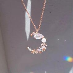 Fancy Jewellery, Stylish Jewelry, Cute Jewelry, Jewelry Accessories, Fashion Jewelry, Jewelry Design, Space Jewelry, Fashion Bracelets, Moon Jewelry