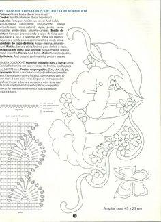 pintura com croche e riscos - catia amelia Abrunhoza - Álbuns da web do Picasa