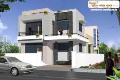 Modern duplex (2 floor) house design. Area: 198m2 (9m X 22m) .Click on this link (http://www.apnaghar.co.in/pre-design-house-plan-ag-page-63.aspx) to view free floor plans (naksha) and other specifications for this design. You may be asked to signup and login. Website: www.apnaghar.co.in, Toll-Free No.- 1800-102-9440, Email: support@apnaghar.co.in