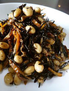 味付け簡単!ひじきと大豆の炒め煮
