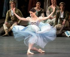 Maria Ricetto as Giselle with ABT. I attended her debut in the role--she was lovely! Delicate, playful, and otherworldly.