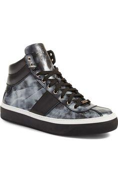 Jimmy Choo Belgravi High Top Sneaker