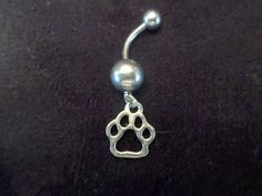 Check out this item in my Etsy shop https://www.etsy.com/listing/195749059/bear-paw-belly-button-ring-handmade-body