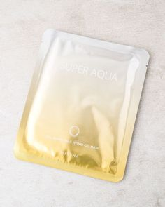 Try this hydrogel sheet mask, infused with fermented snail mucin & gold extracts. Use it to boost skin's elasticity, hydrate & repair dull, dry skin. Best Antioxidant Serum, K Beauty Routine, Gel Mask, Missha, Homemade Face Masks, Dull Skin, Skin Elasticity, Packaging Design Inspiration, Design Ideas