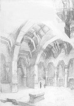 Moria- Alan Lee