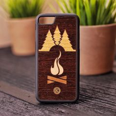 Take it into the Wild. The Nomad Case by Keyway Designs.