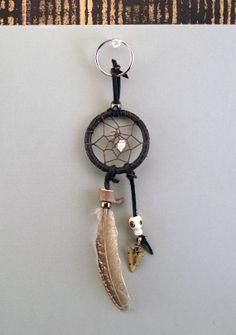 dreamcatcher keychain or purse / belt jewel by MetisArtsJolin, $13.00